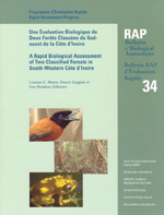 A Rapid Biological Assessment of Two Classified Forests in South-Western Côte d'Ivoire