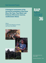 A Biological Assessment of the Terrestrial Ecosystems of the Draw River, Boi-Tano, Tano Nimiri and Krokosua Hills Forest Reserves, Southwestern Ghana