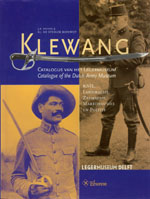 Klewang: Catalogue of the Dutch Army Museum