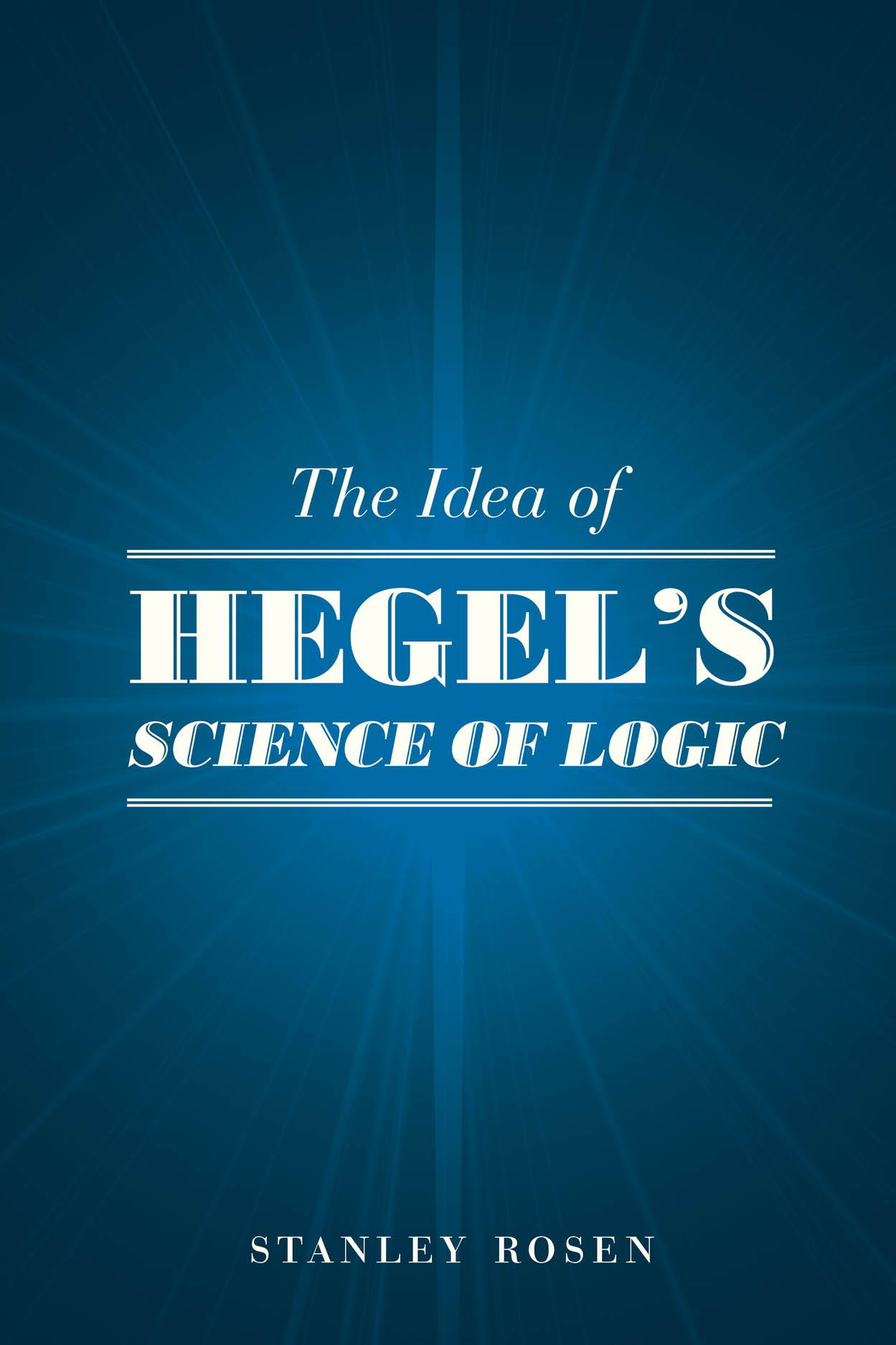 The Idea of Hegel's