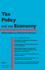 Tax Policy and the Economy, Volume 27