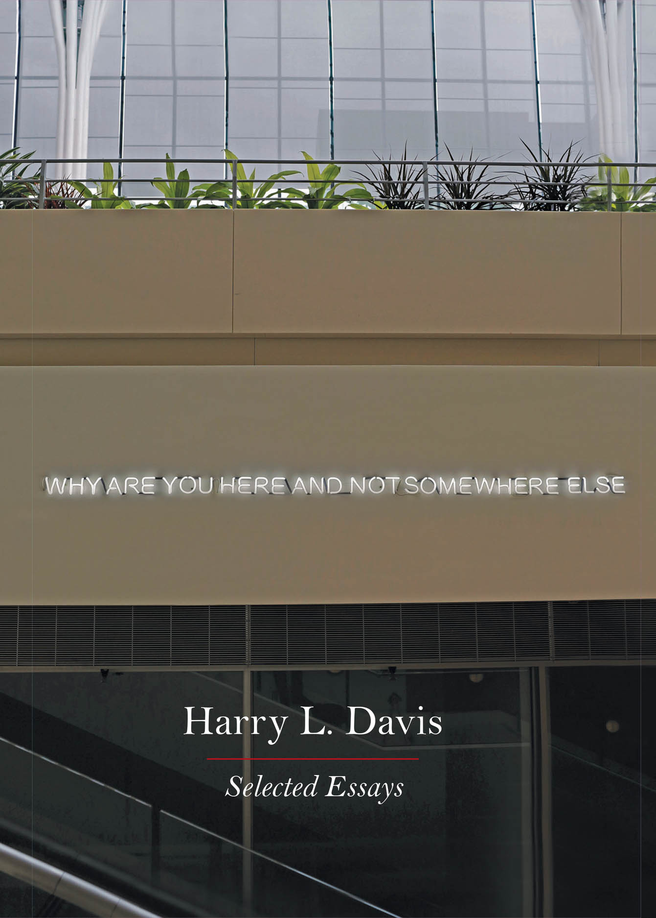 Why Are You Here and Not Somewhere Else: Selected Essays