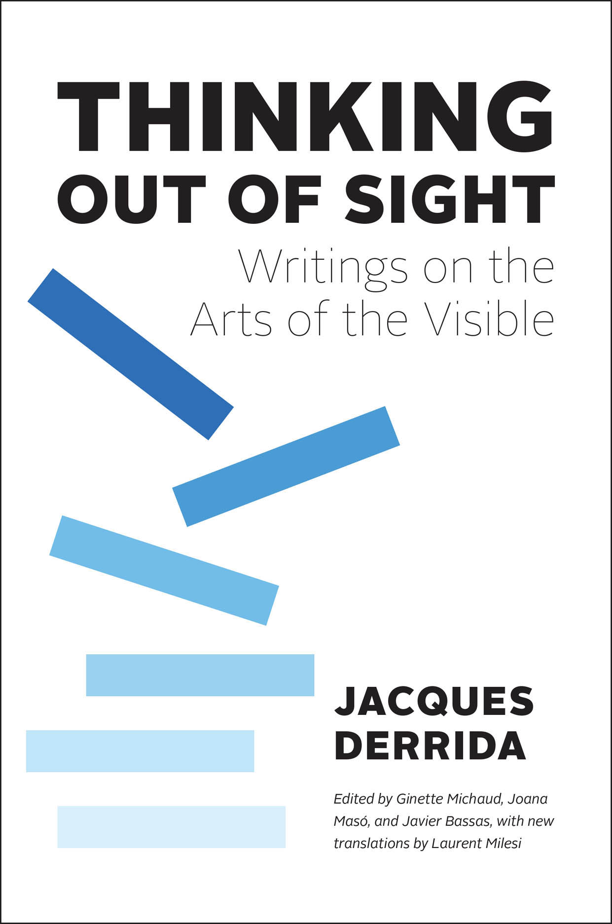 Thinking Out of Sight: Writings on the Arts of the Visible