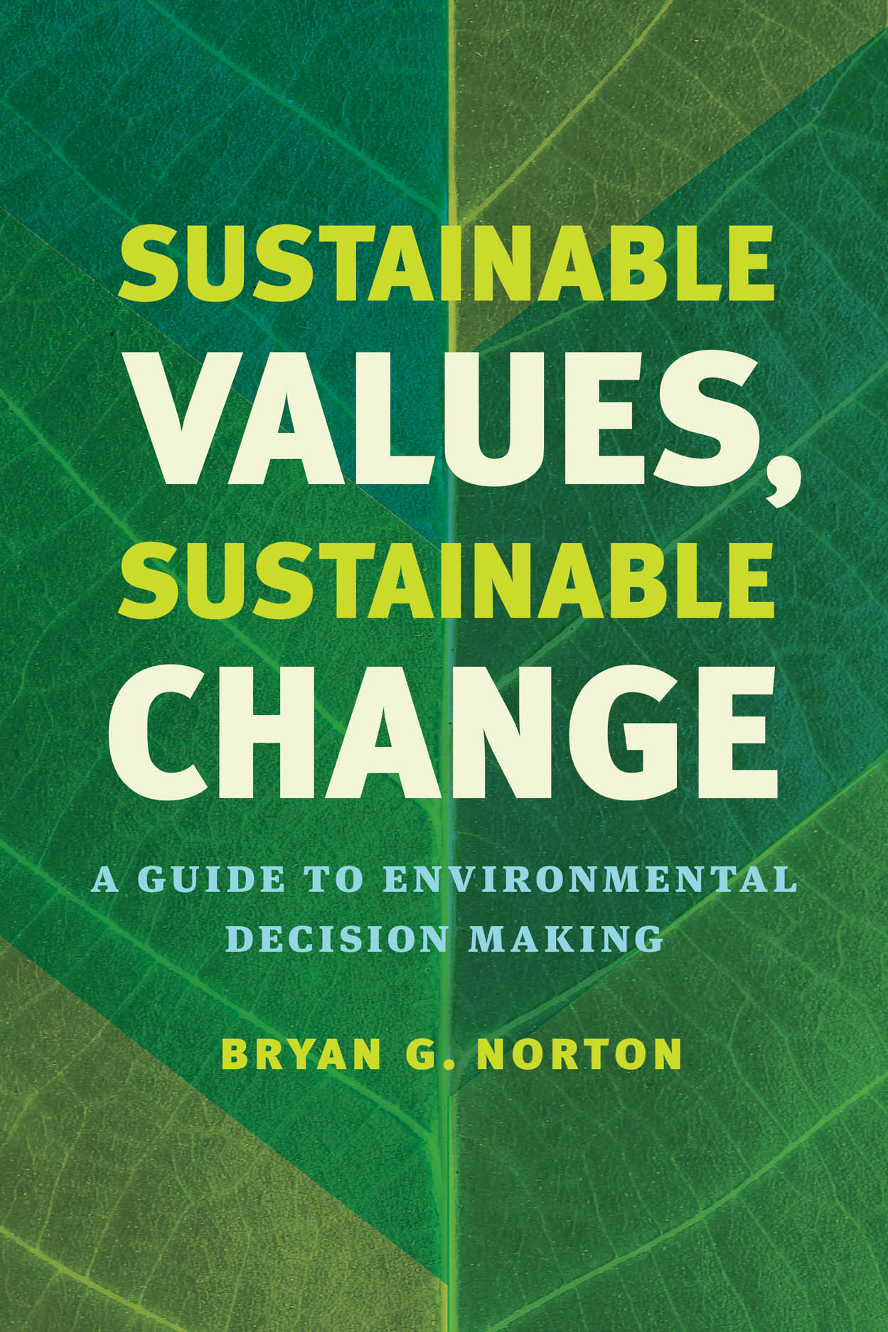 Sustainable Values, Sustainable Change