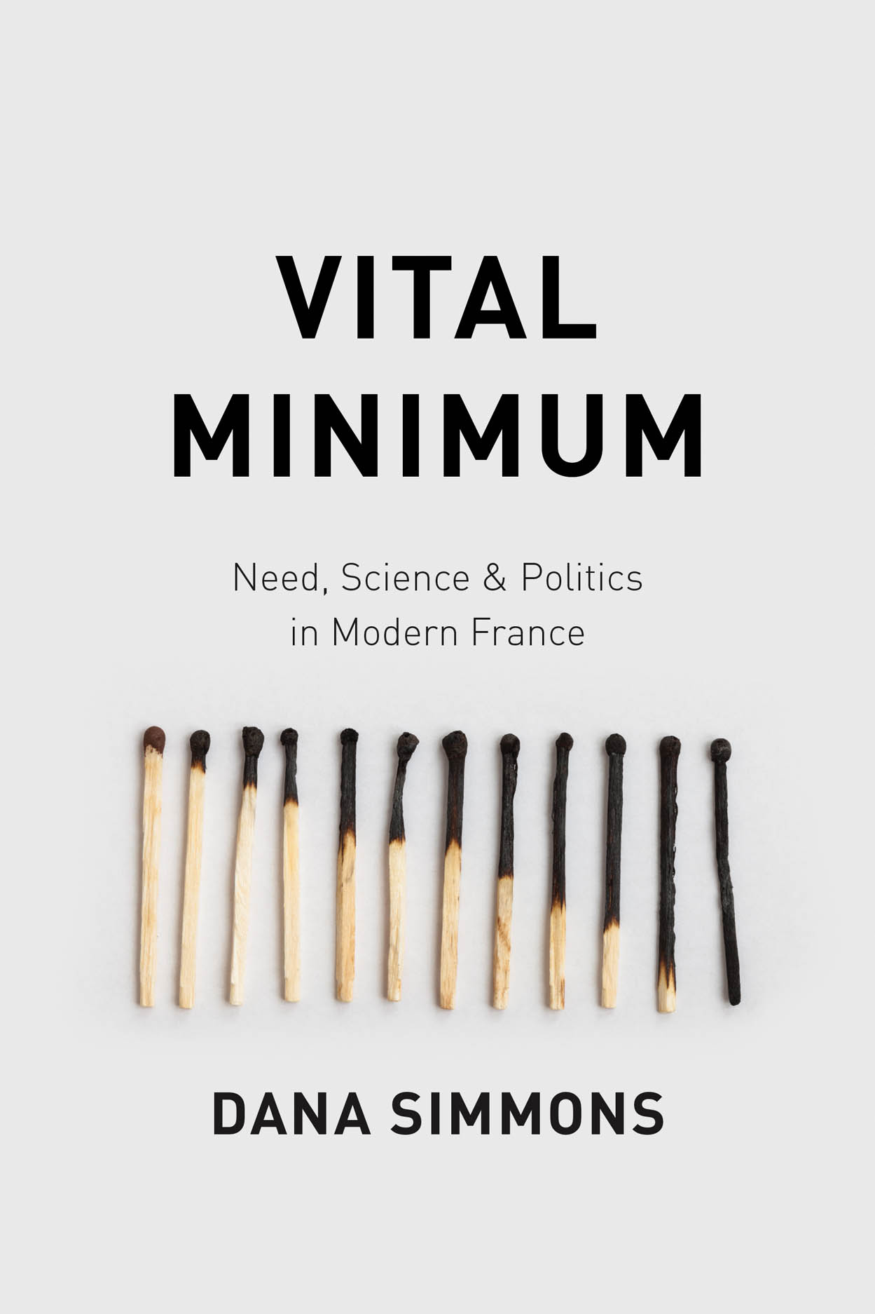 Vital Minimum: Need, Science, and Politics in Modern France