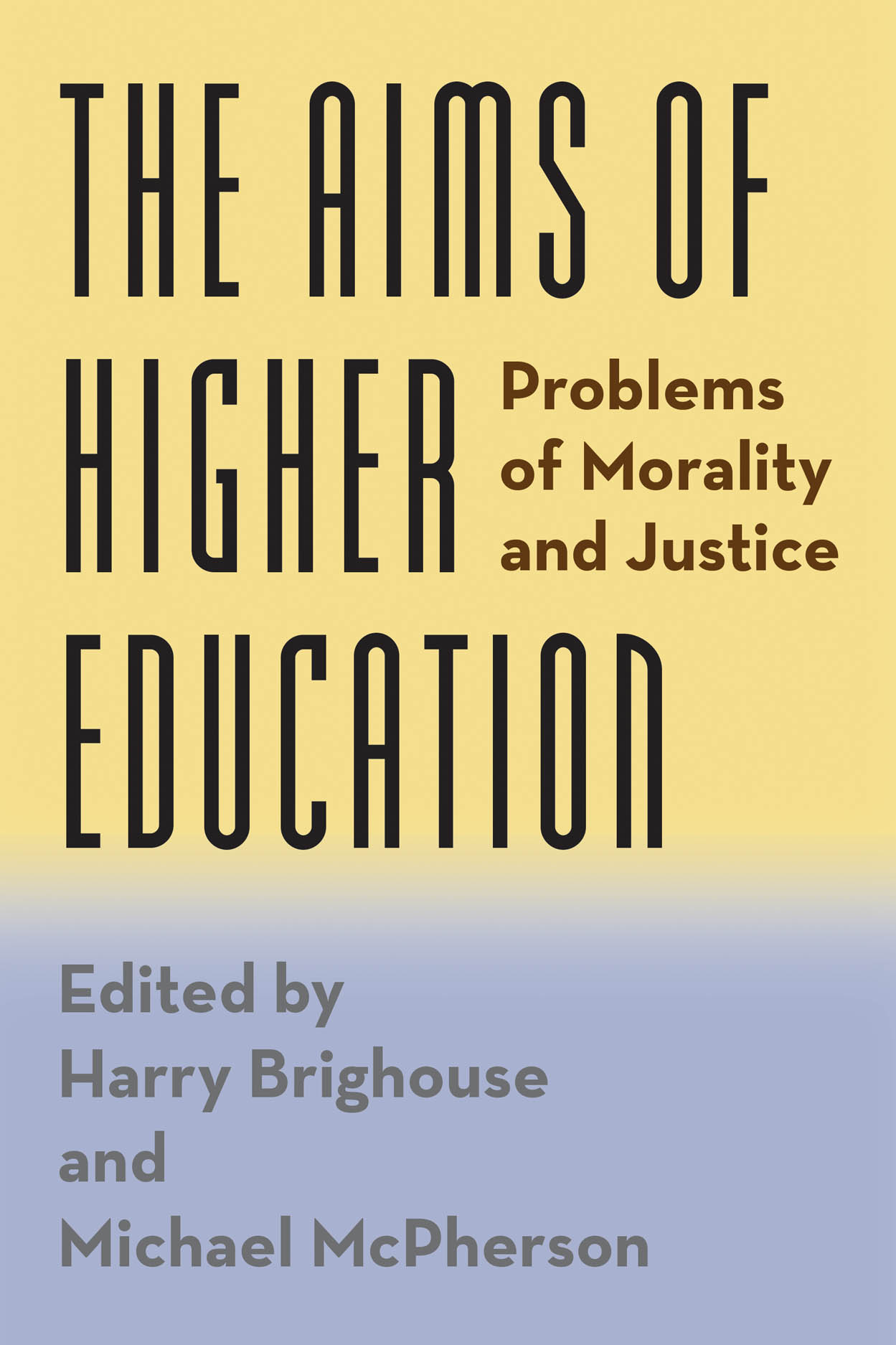 The Aims of Higher Education