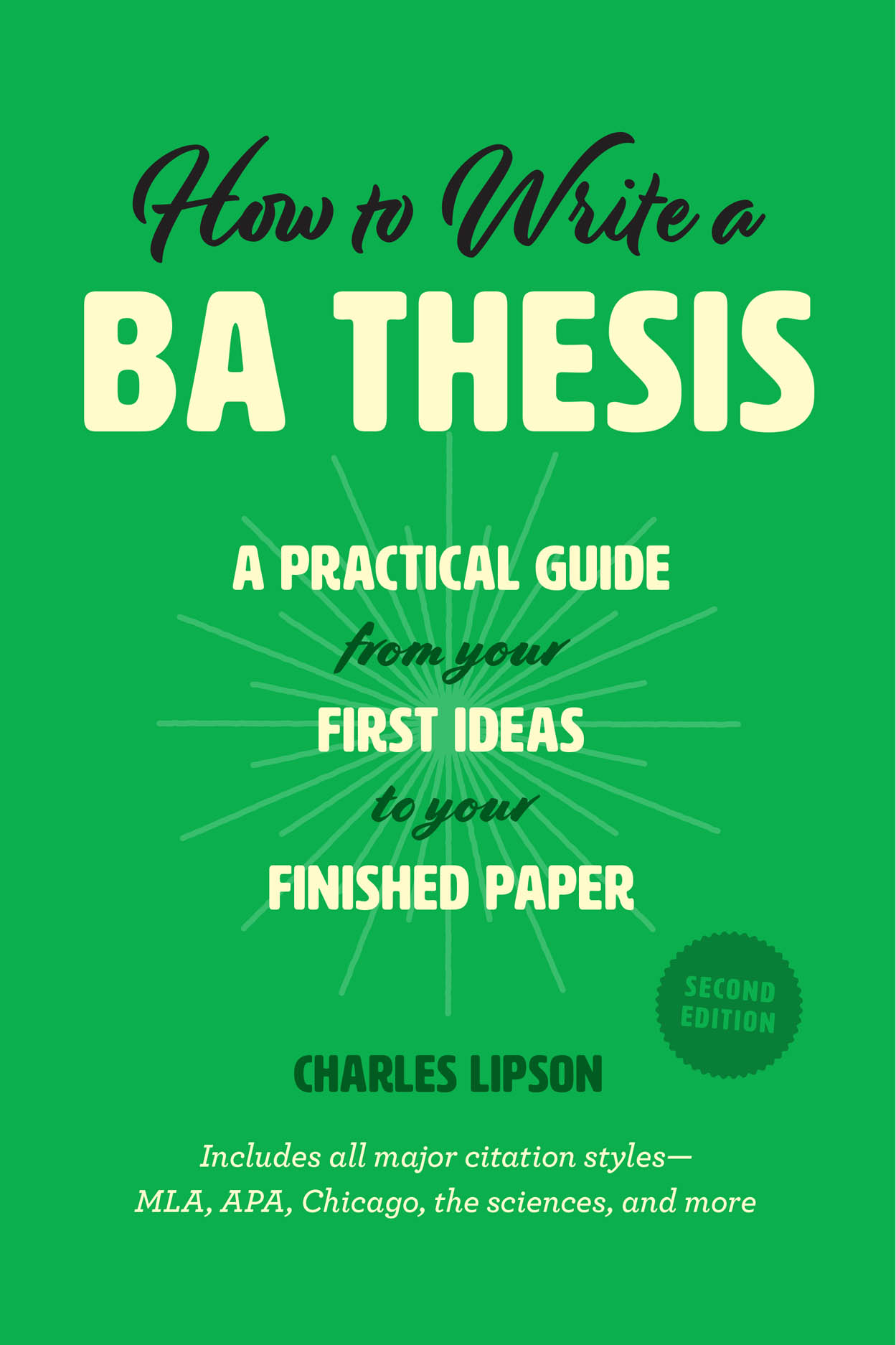 How to write a ba thesis second edition a practical guide from how to write a ba thesis second edition ccuart