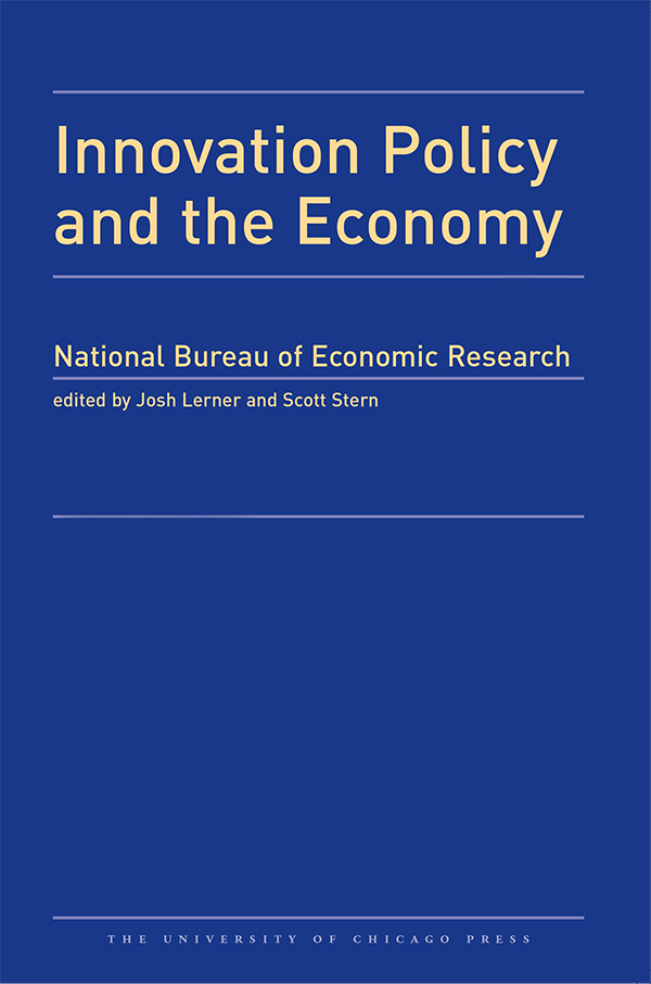 Innovation Policy and the Economy, 2016