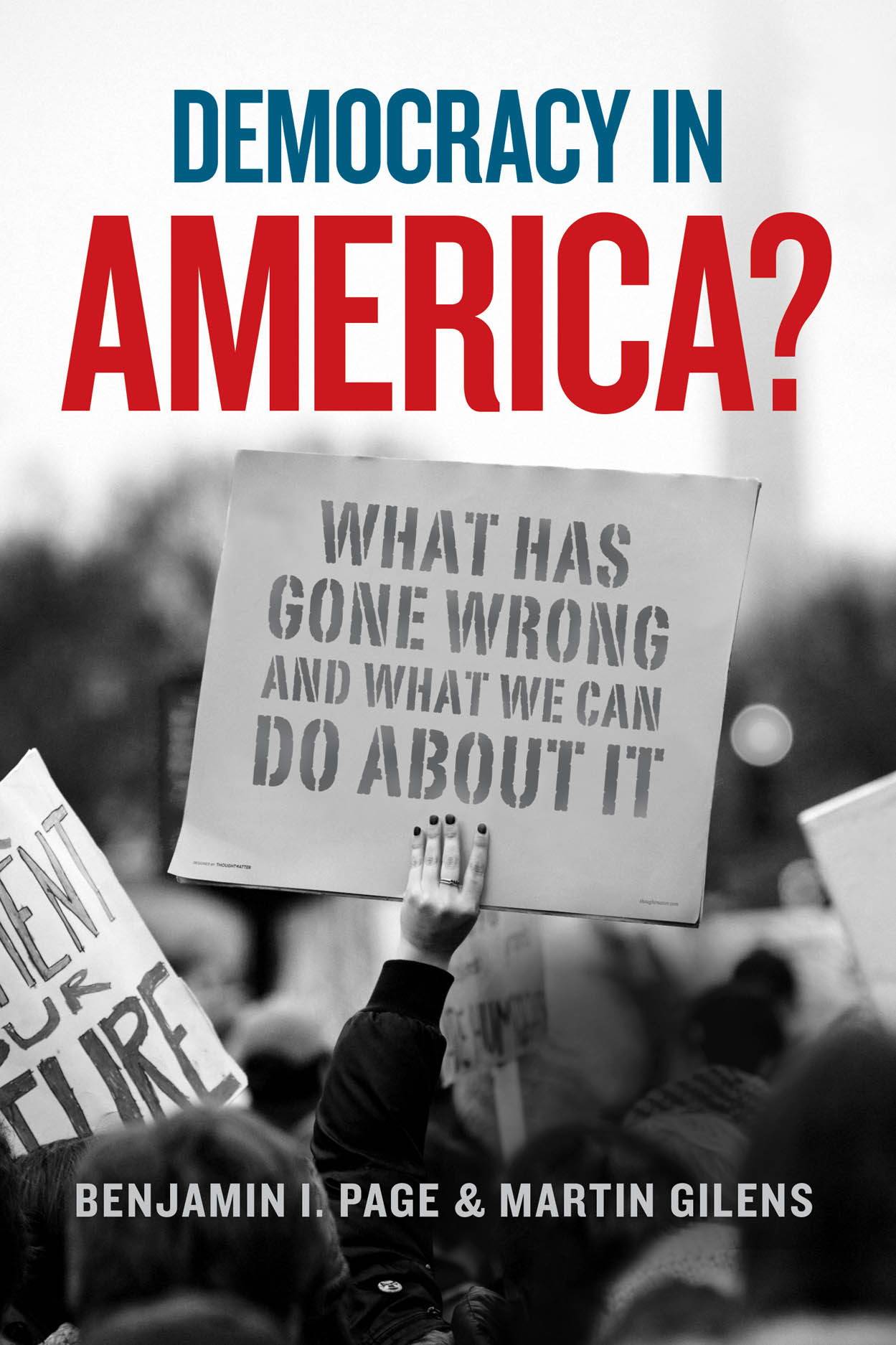Democracy in America? jacket cover