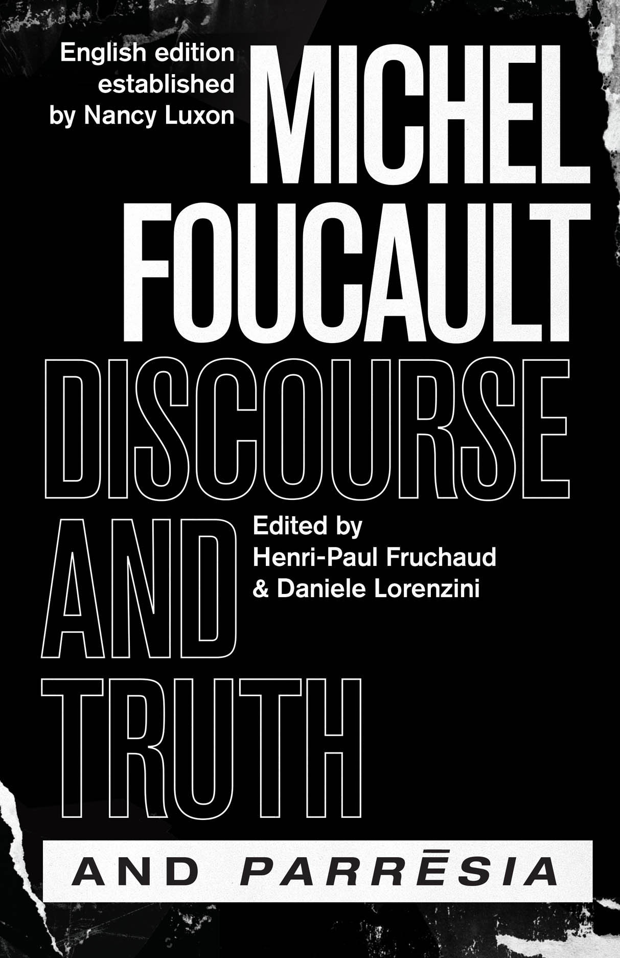 """Discourse and Truth"" and ""Parresia"" Couverture du livre"