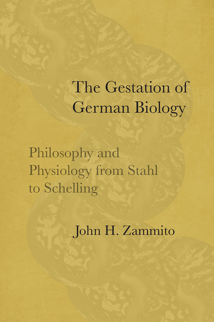 The Gestation of German Biology