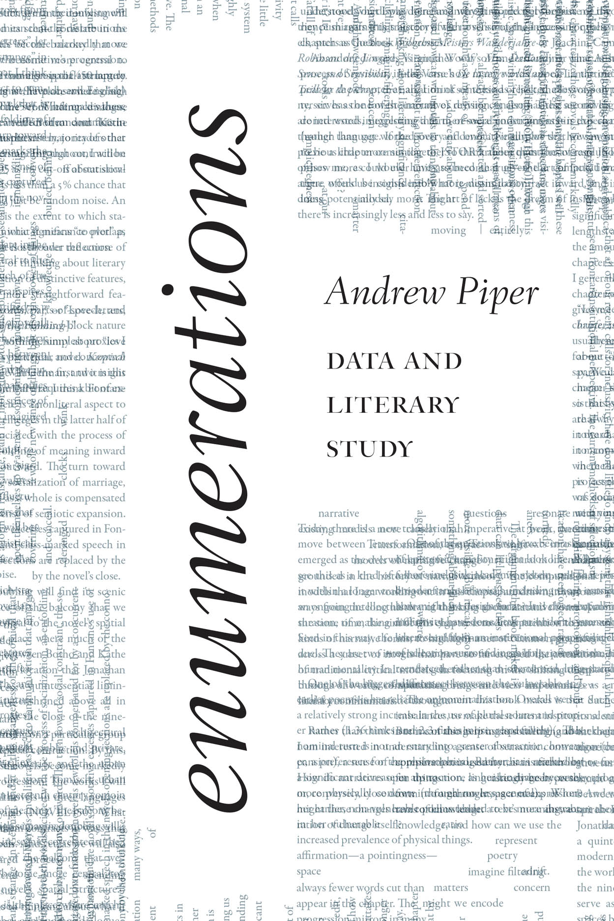 Enumerations: Data and Literary Study