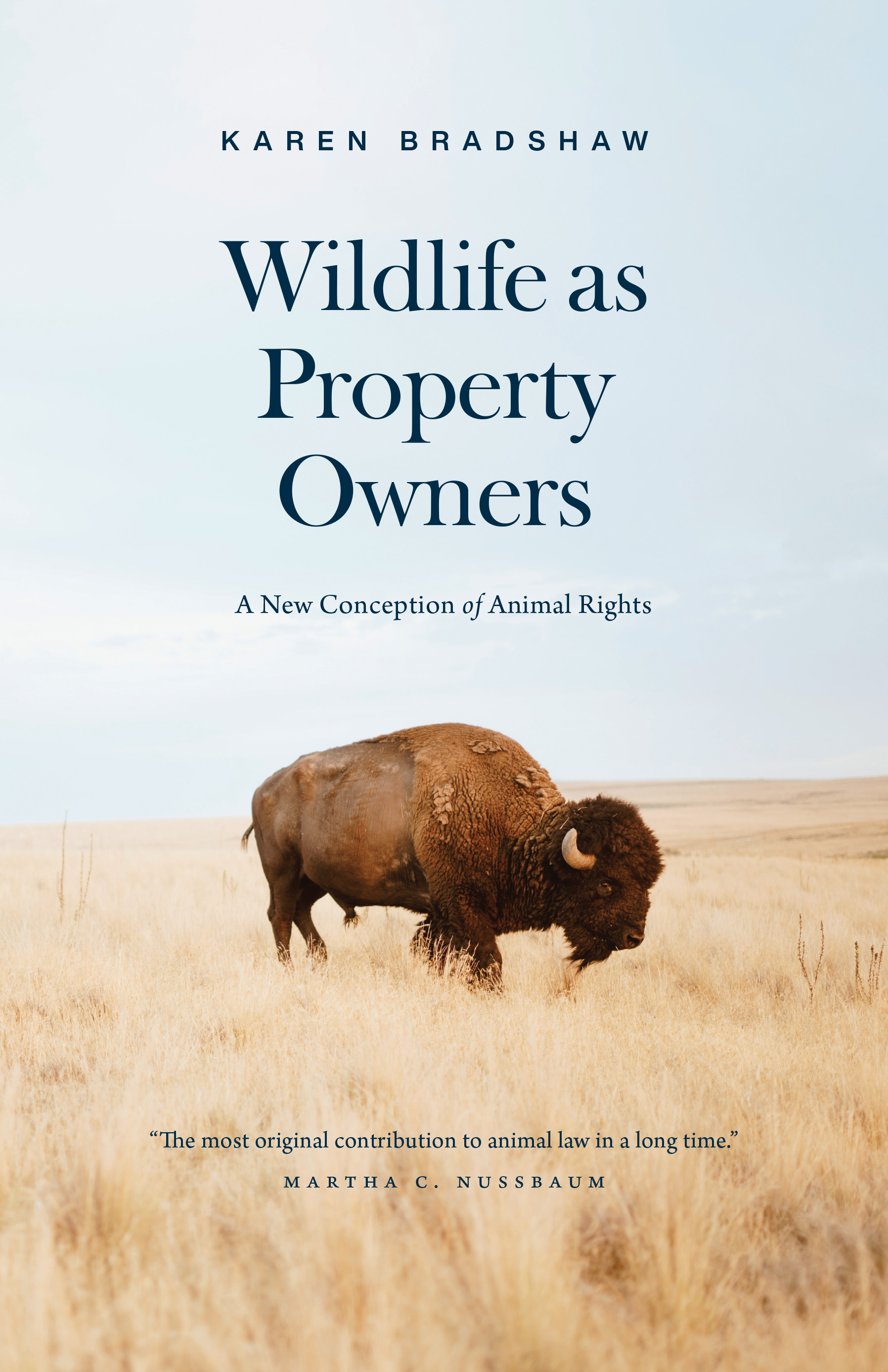 Wildlife as Property Owners: A New Conception of Animal Rights