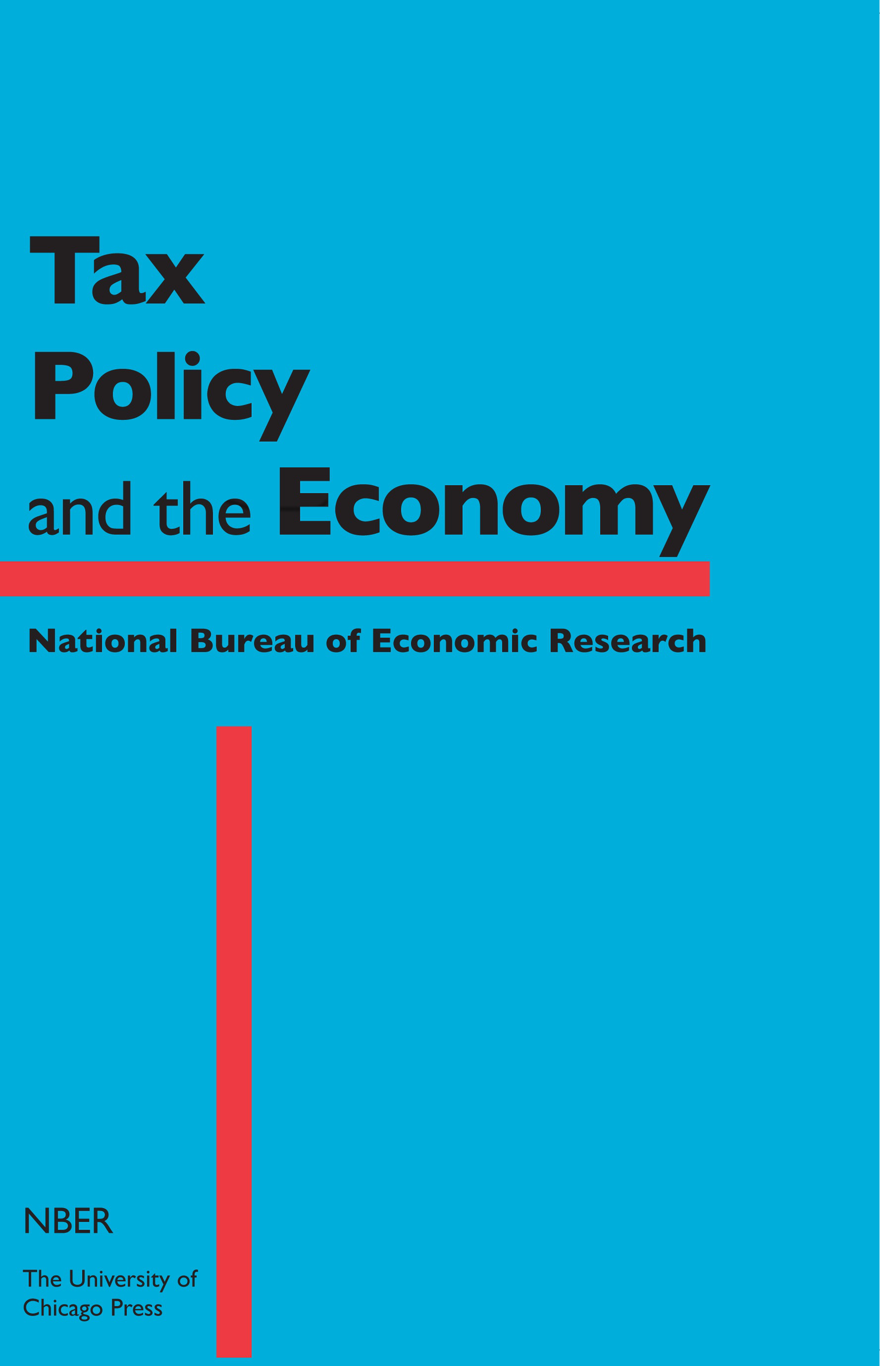 Tax Policy and the Economy, Volume 32