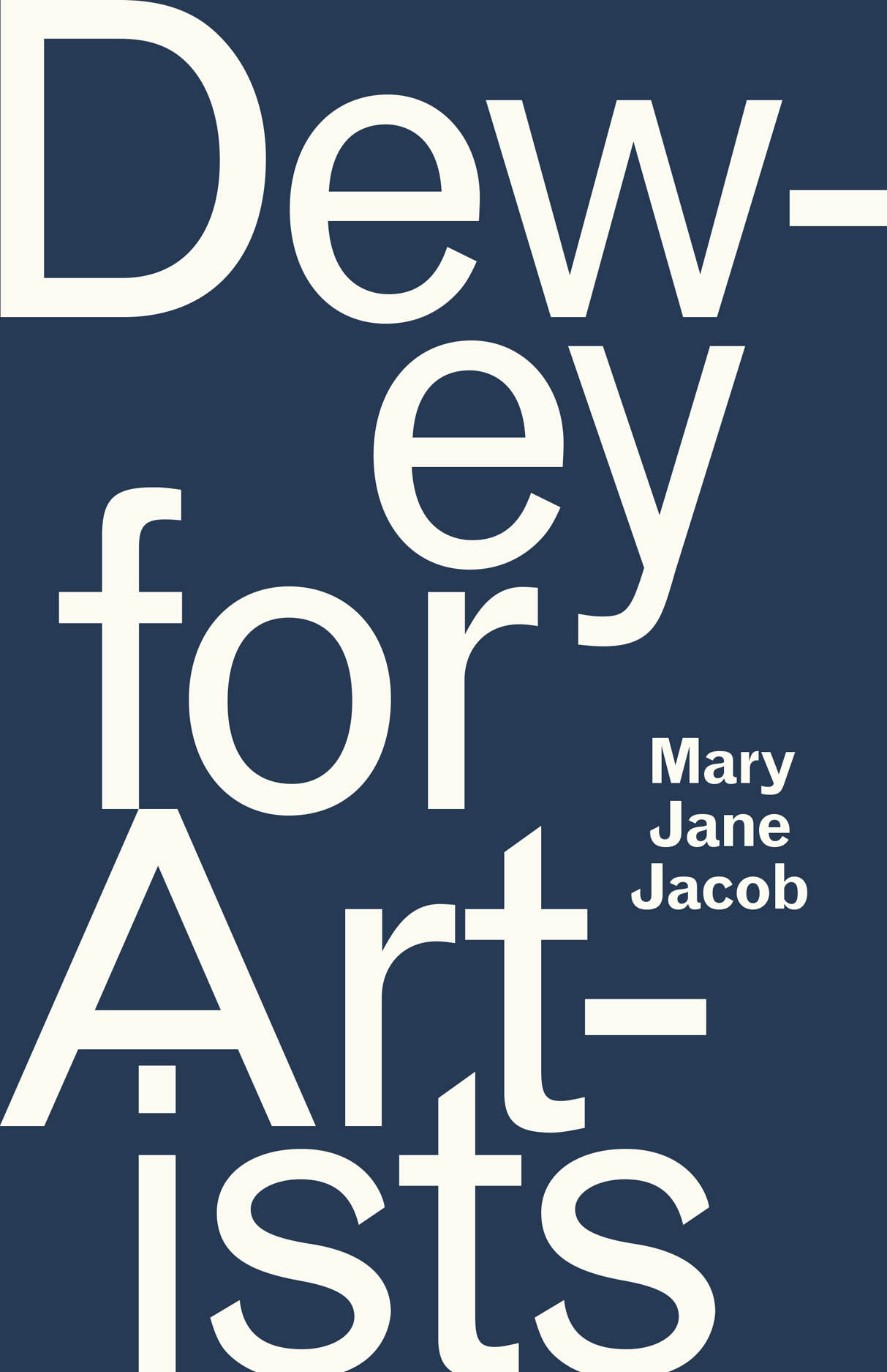 Dewey for Artists