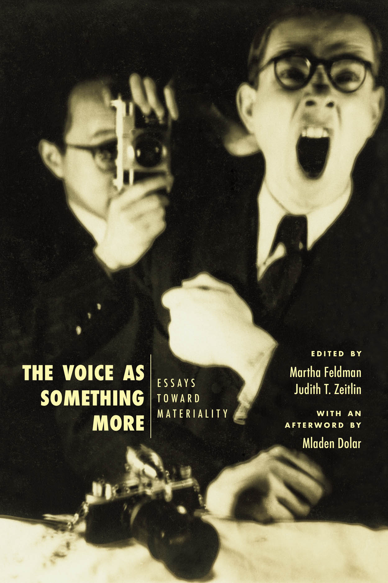 The Voice as Something More: Essays toward Materiality