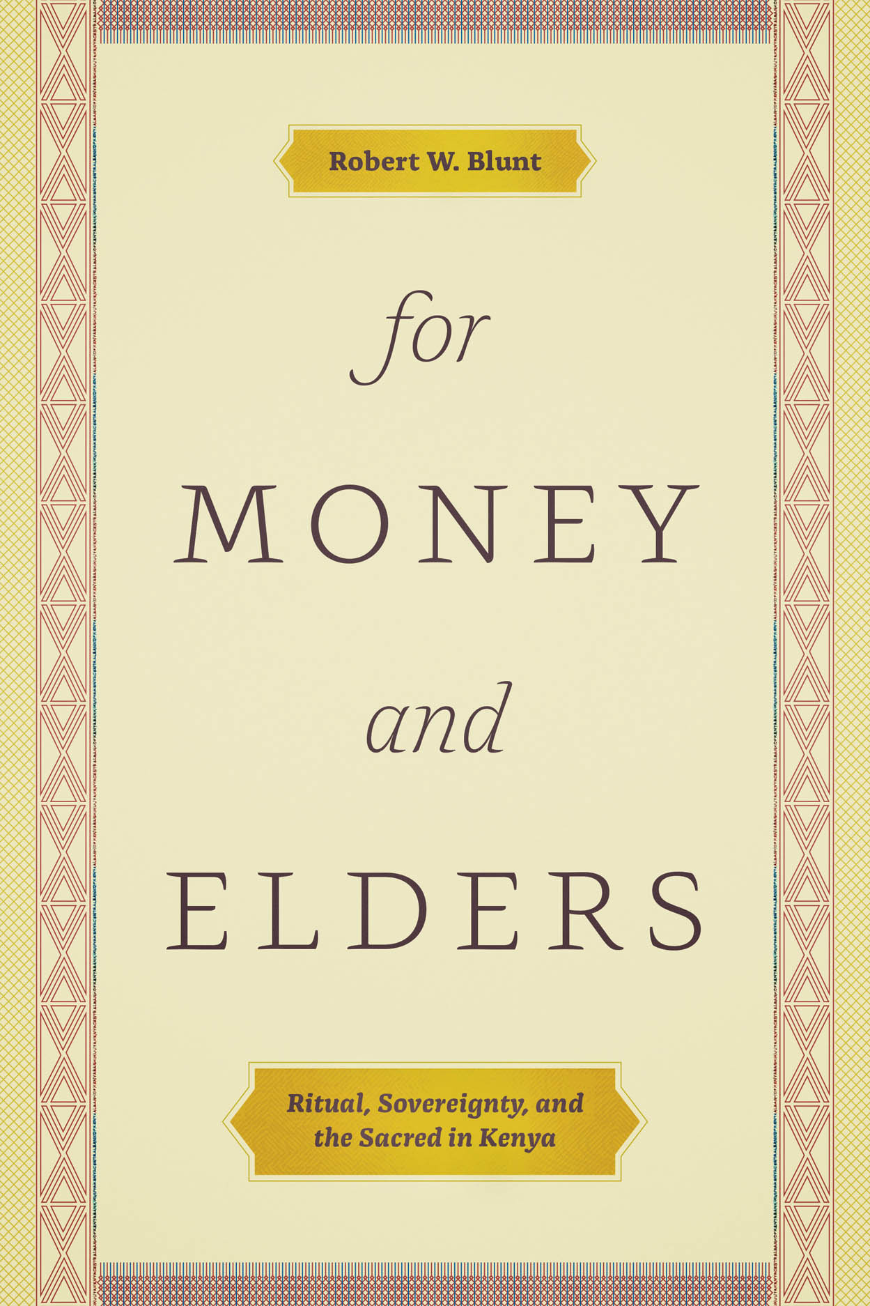 For Money and Elders: Ritual, Sovereignty, and the Sacred in Kenya