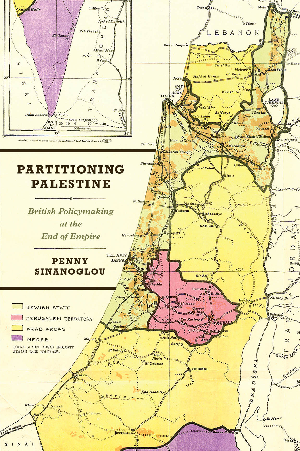 Partitioning Palestine: British Policymaking at the End of Empire