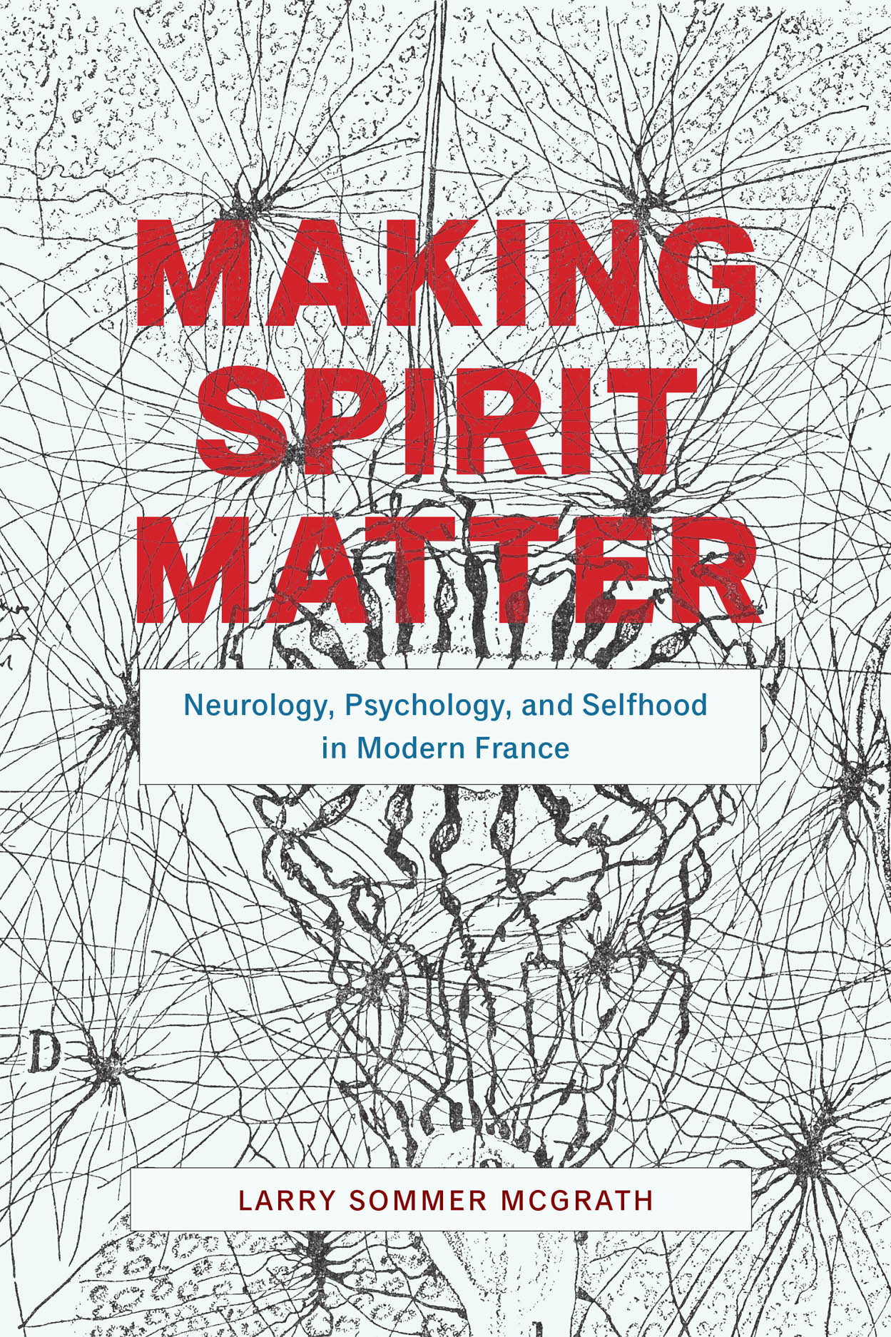 Making Spirit Matter: Neurology, Psychology, and Selfhood in Modern France