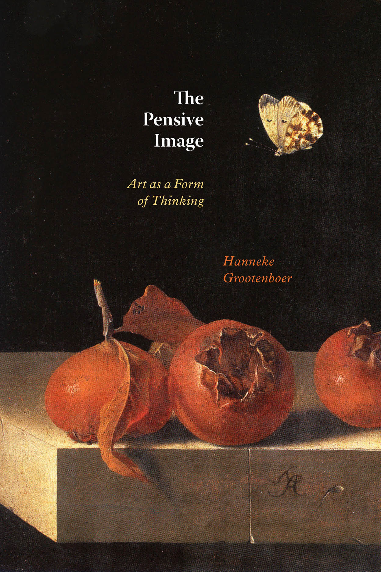 The Pensive Image: Art as a Form of Thinking Book Cover