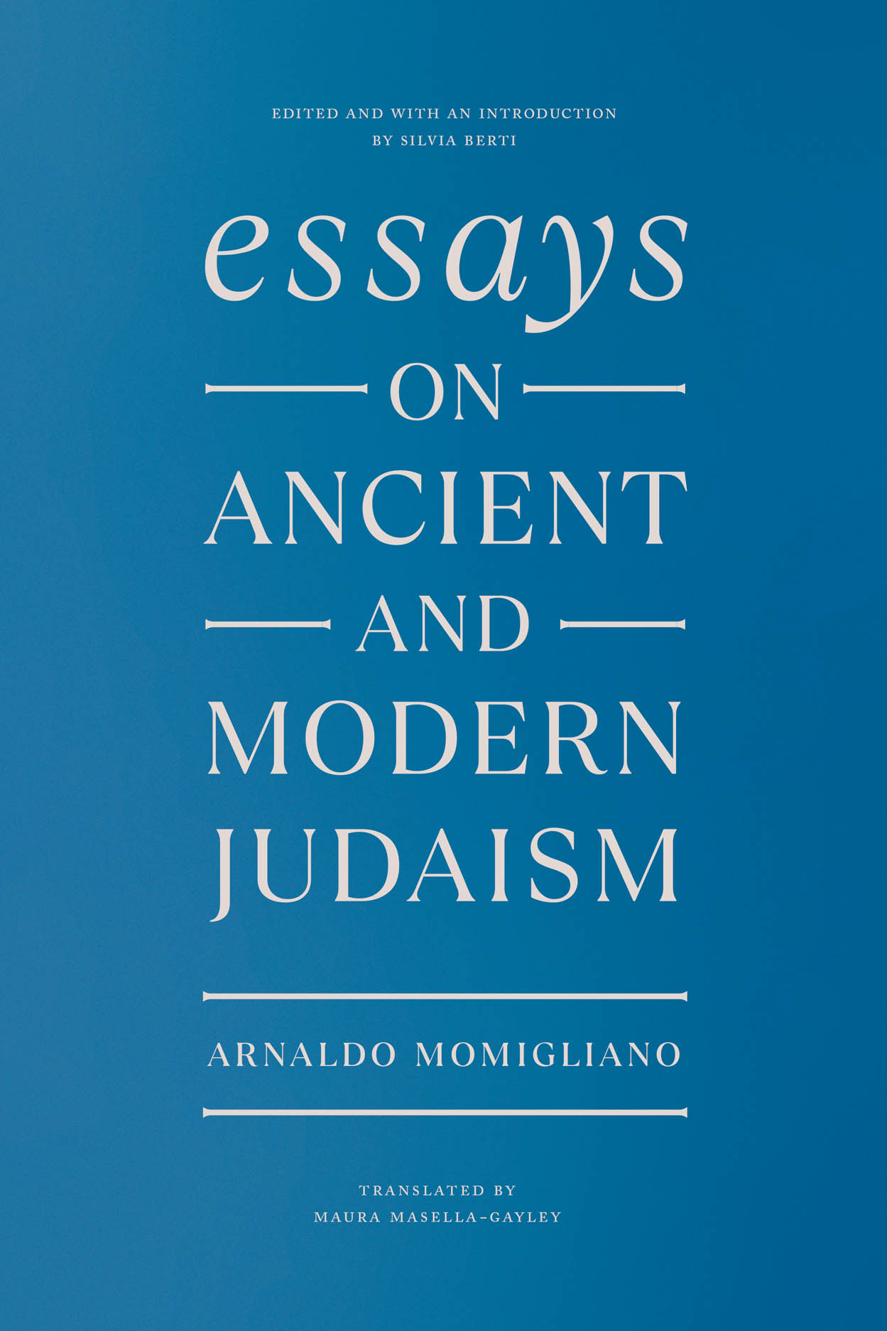 Essays on Ancient and Modern Judaism