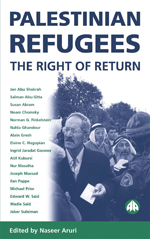 Palestinian Refugees: The Right of Return