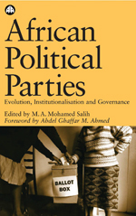 African Political Parties: Evolution, Institutionalisation and Governance