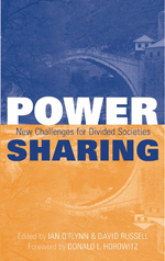 Power Sharing: New Challenges For Divided Societies
