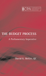 The Budget Process: A Parliamentary Imperative