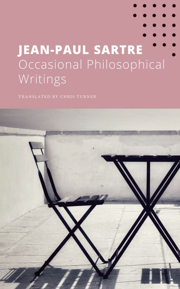 Occasional Philosophical Writings Book Cover