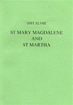 Lives Of St Mary Magdalene And St Martha