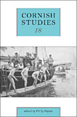 Cornish Studies, Volume 18