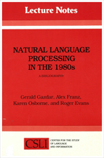 Natural Language Processing in the 1980s: A Bibliography