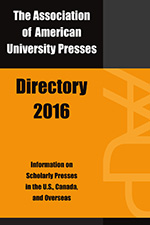 Association of American University Presses Directory 2016