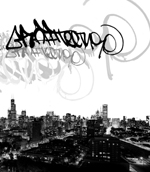 Graffitecture: Chicago Graffiti Artists Attack Photographic Spaces
