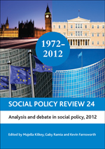Social Policy Review 24: Analysis and Debate in Social Policy, 2012
