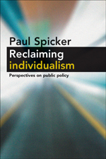 Reclaiming Individualism: Perspectives on Public Policy