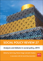 Social Policy Review 27: Analysis and Debate in Social Policy, 2015