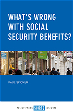 What's Wrong with Social Security Benefits?