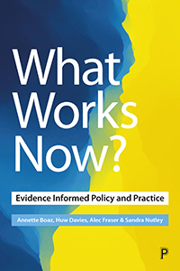 What Works Now?: Evidence-Based Policy and Practice Revisited