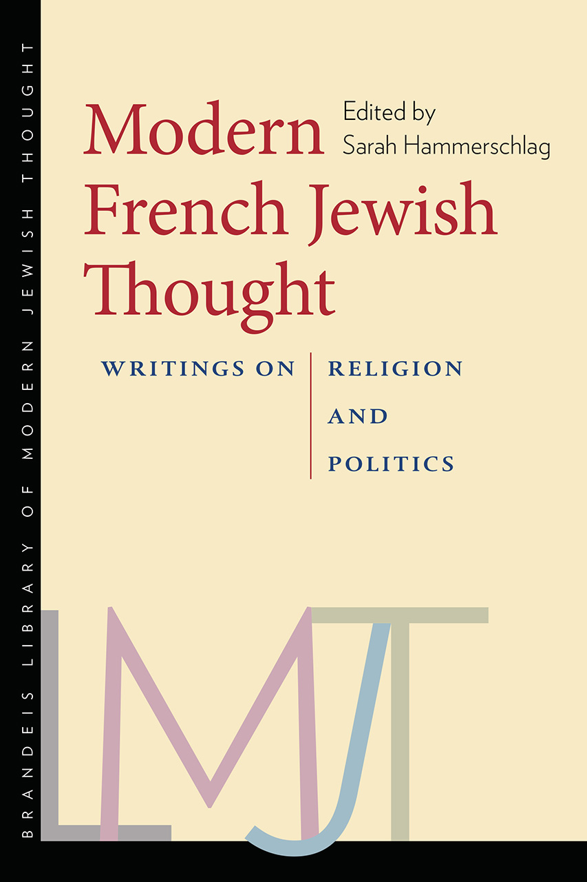 Modern French Jewish Thought
