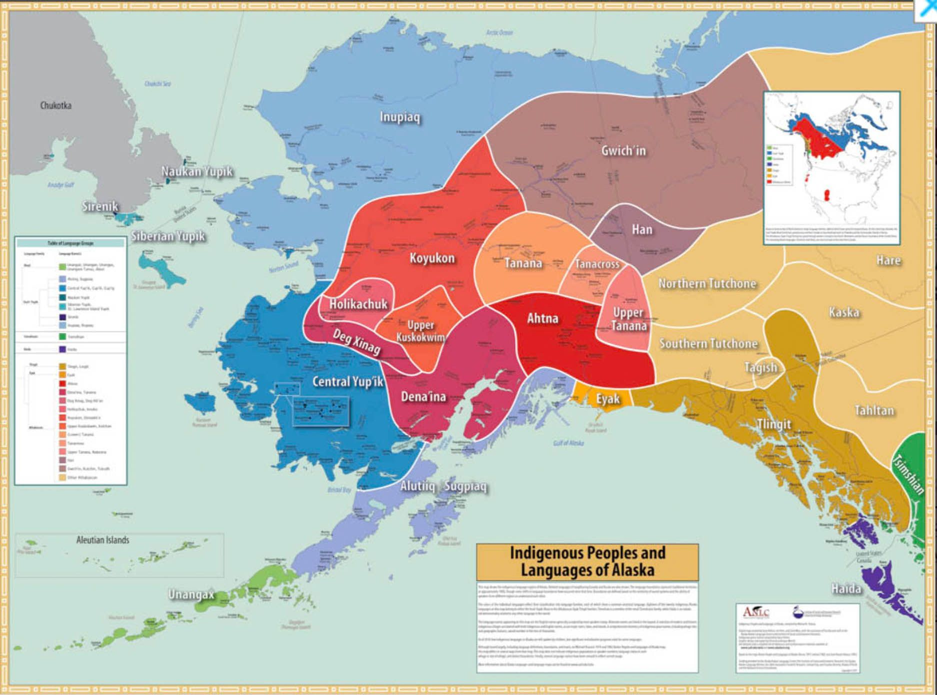 Indigenous Peoples and Languages of Alaska: New Edition