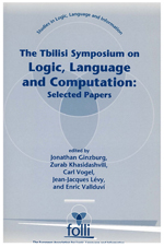The Tbilisi Symposium on Logic, Language and Computation: Selected Papers