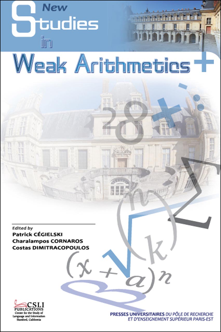New Studies in Weak Arithmetics
