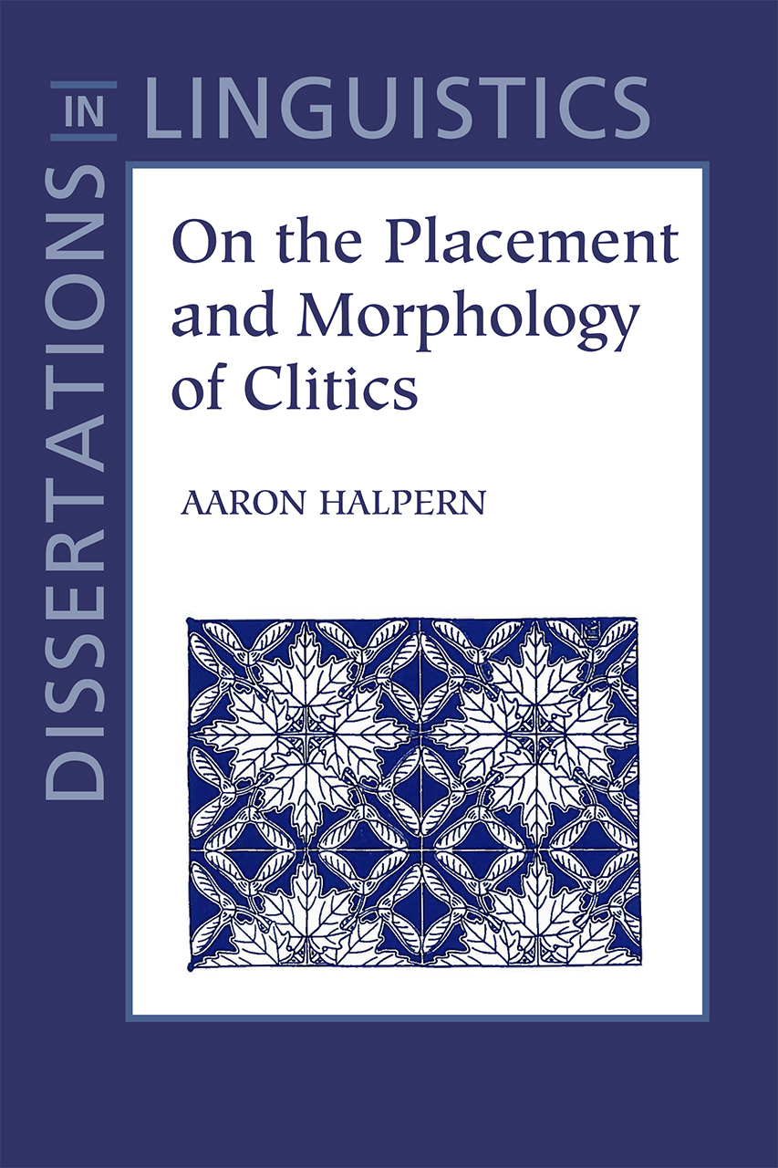 On the Placement and Morphology of Clitics