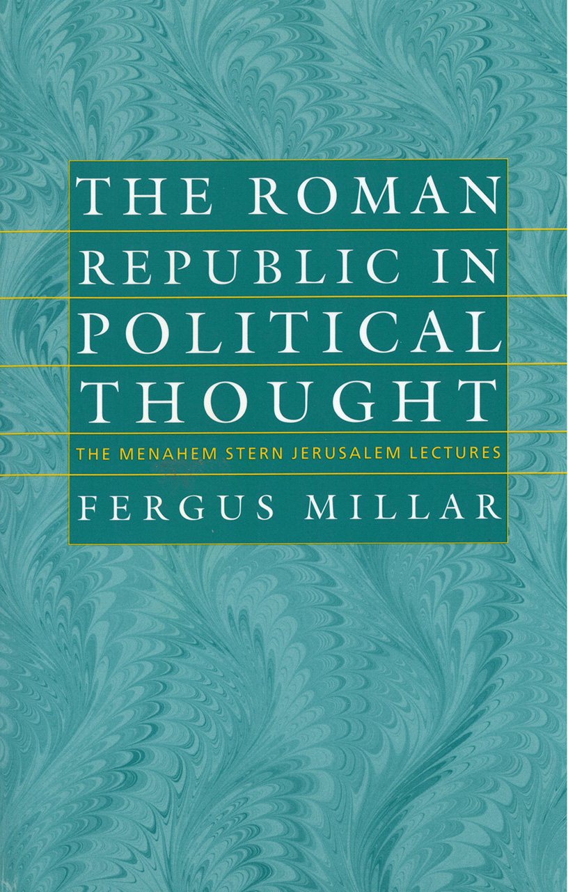 The Roman Republic in Political Thought