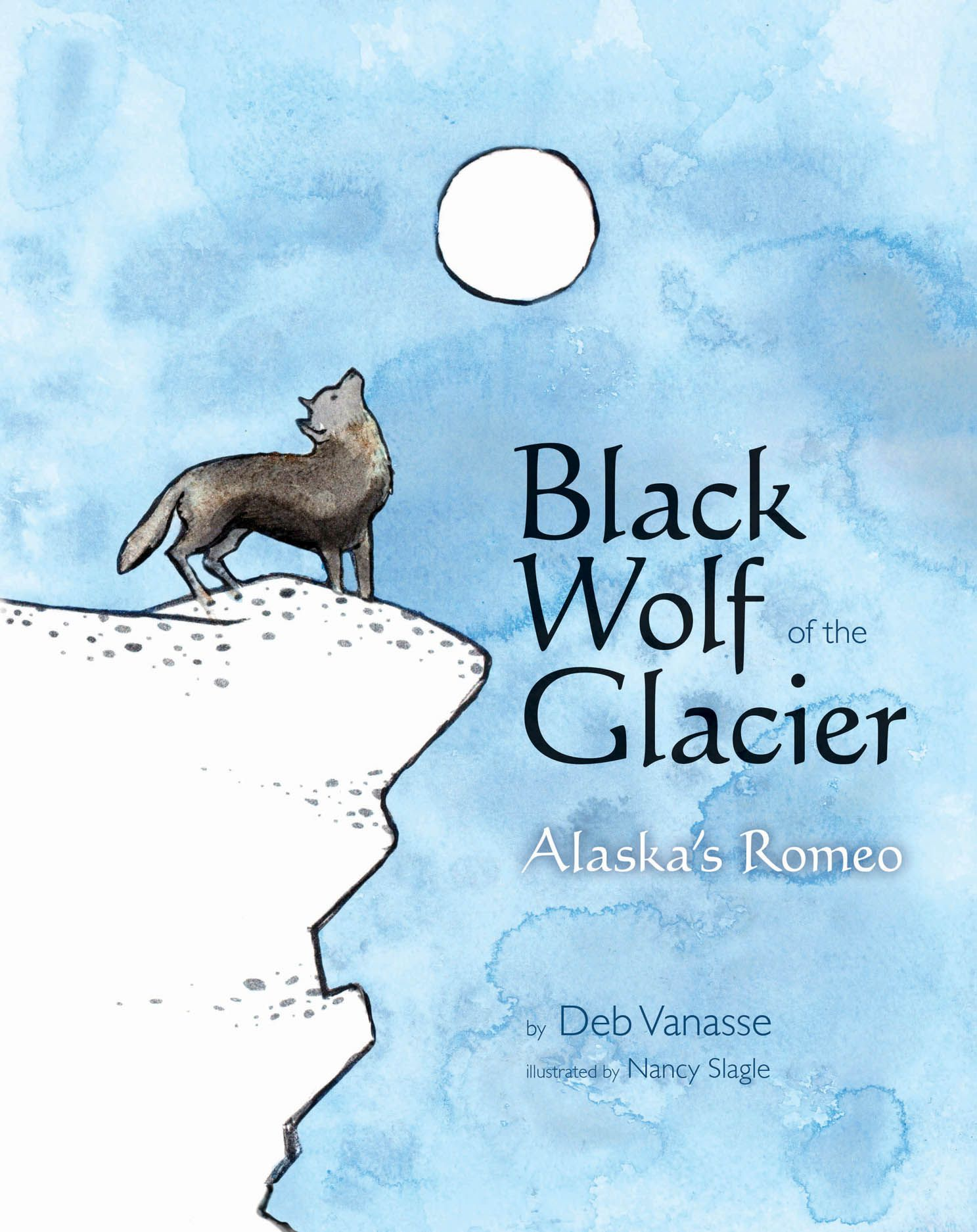 Black Wolf of the Glacier