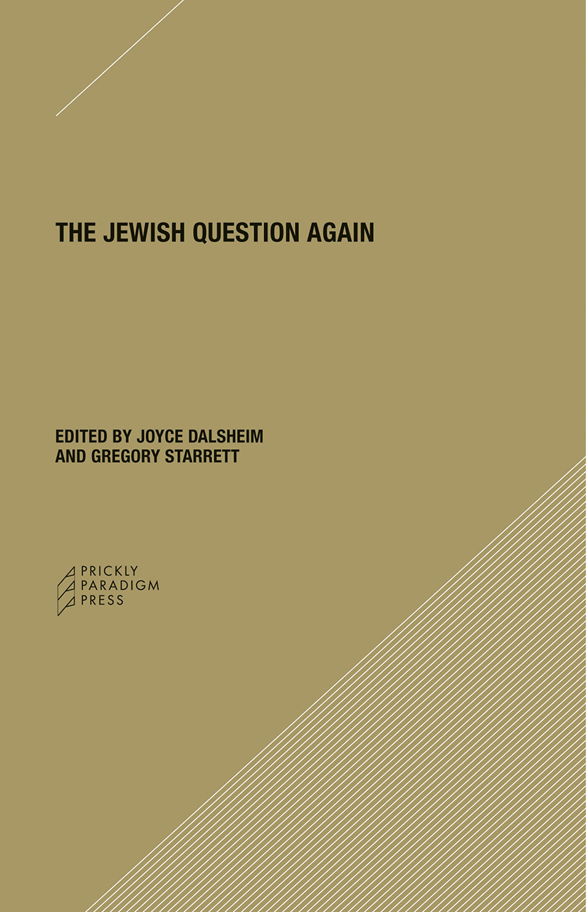The Jewish Question Again