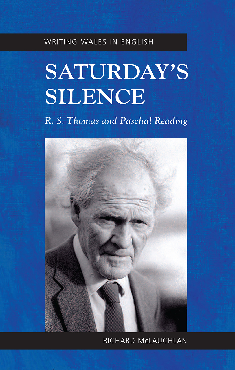 Saturday's Silence: R. S. Thomas and Paschal Reading