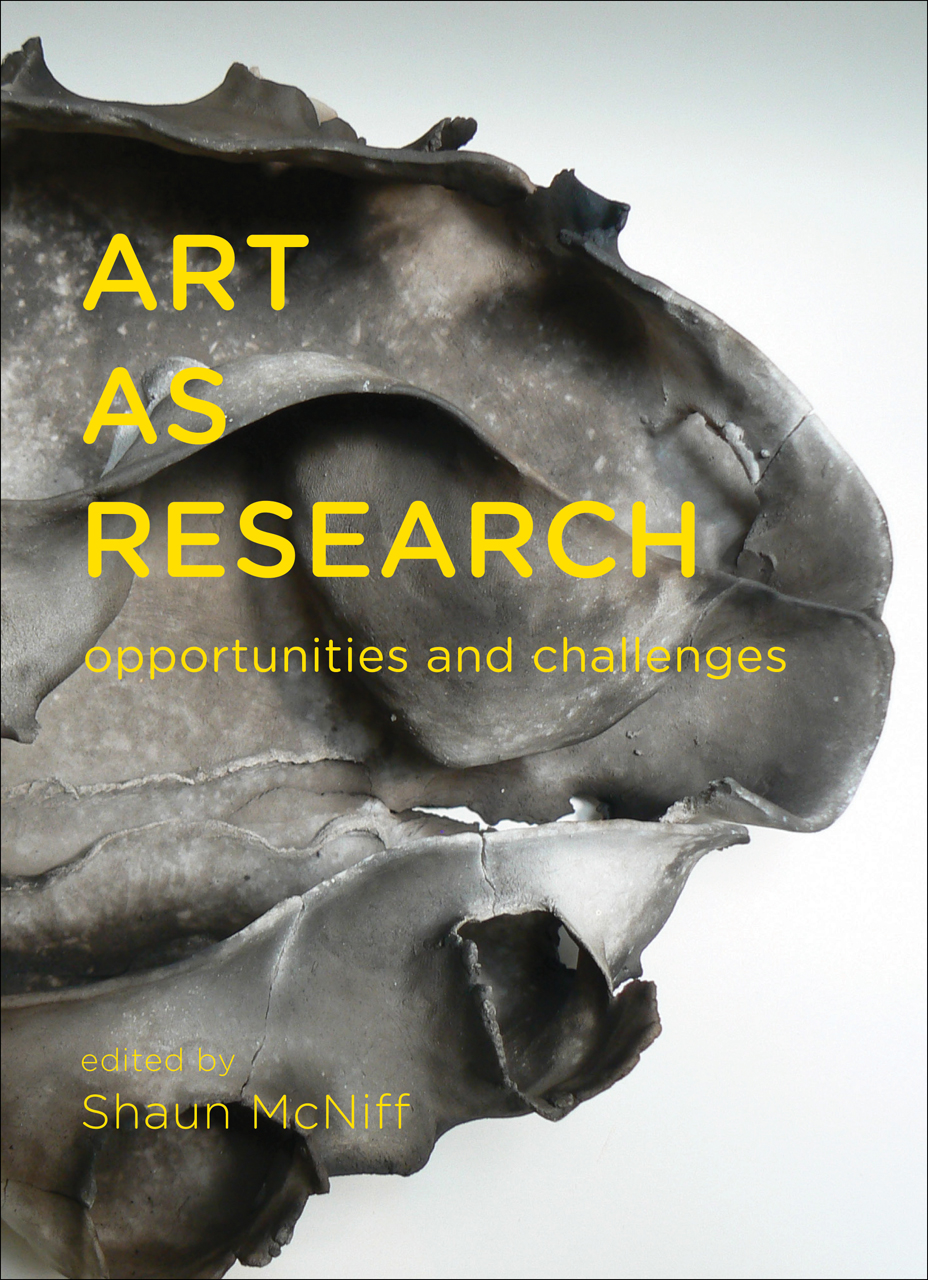 Art as Research: Opportunities and Challenges